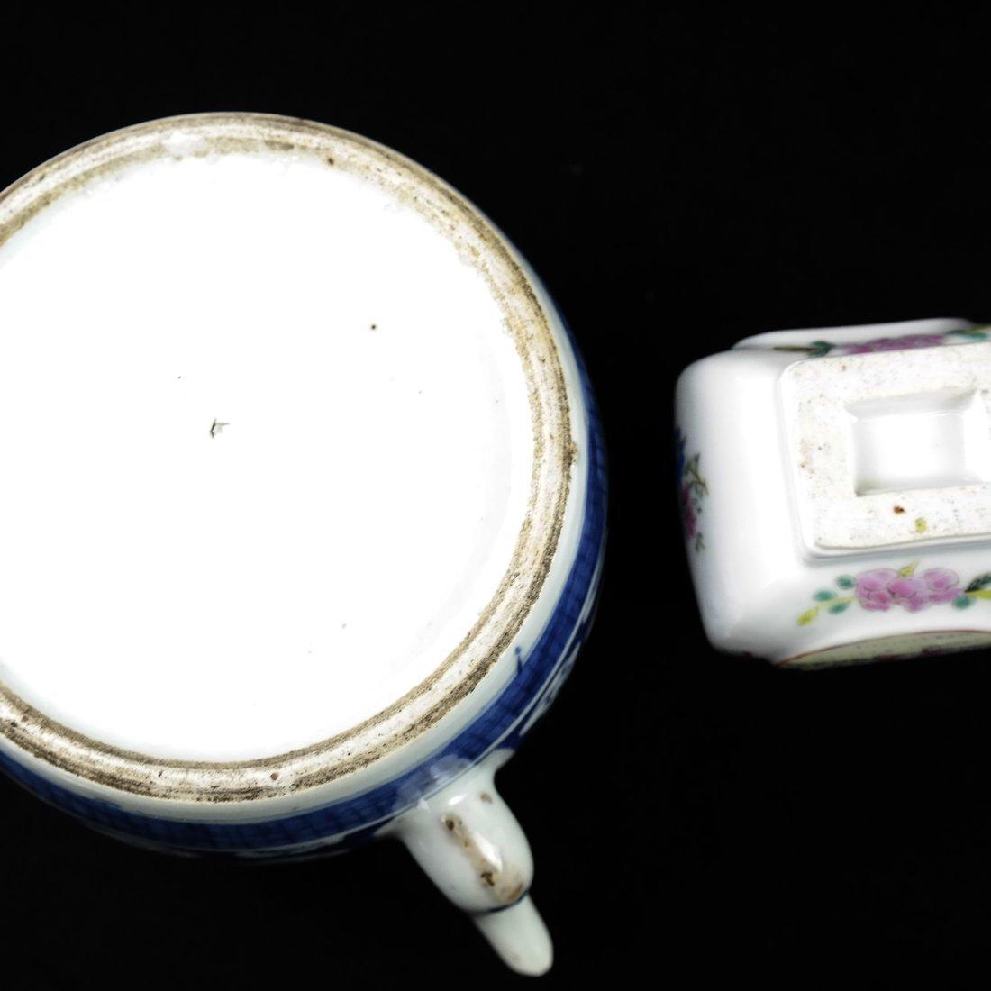 Six Pieces of Asian Porcelain - 8