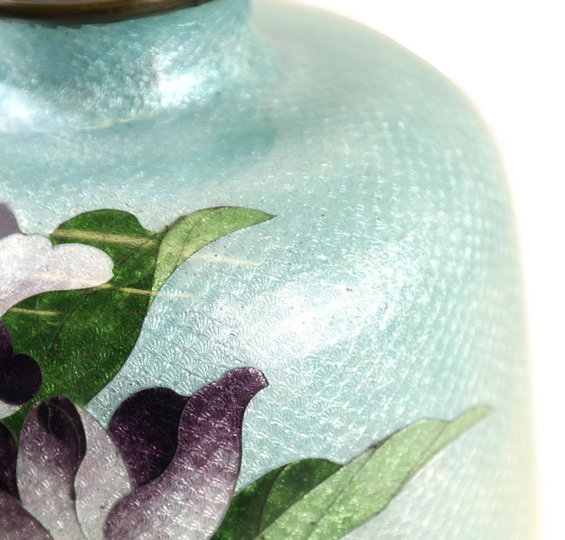 Two Various Asian Cloisonne Vases - 10