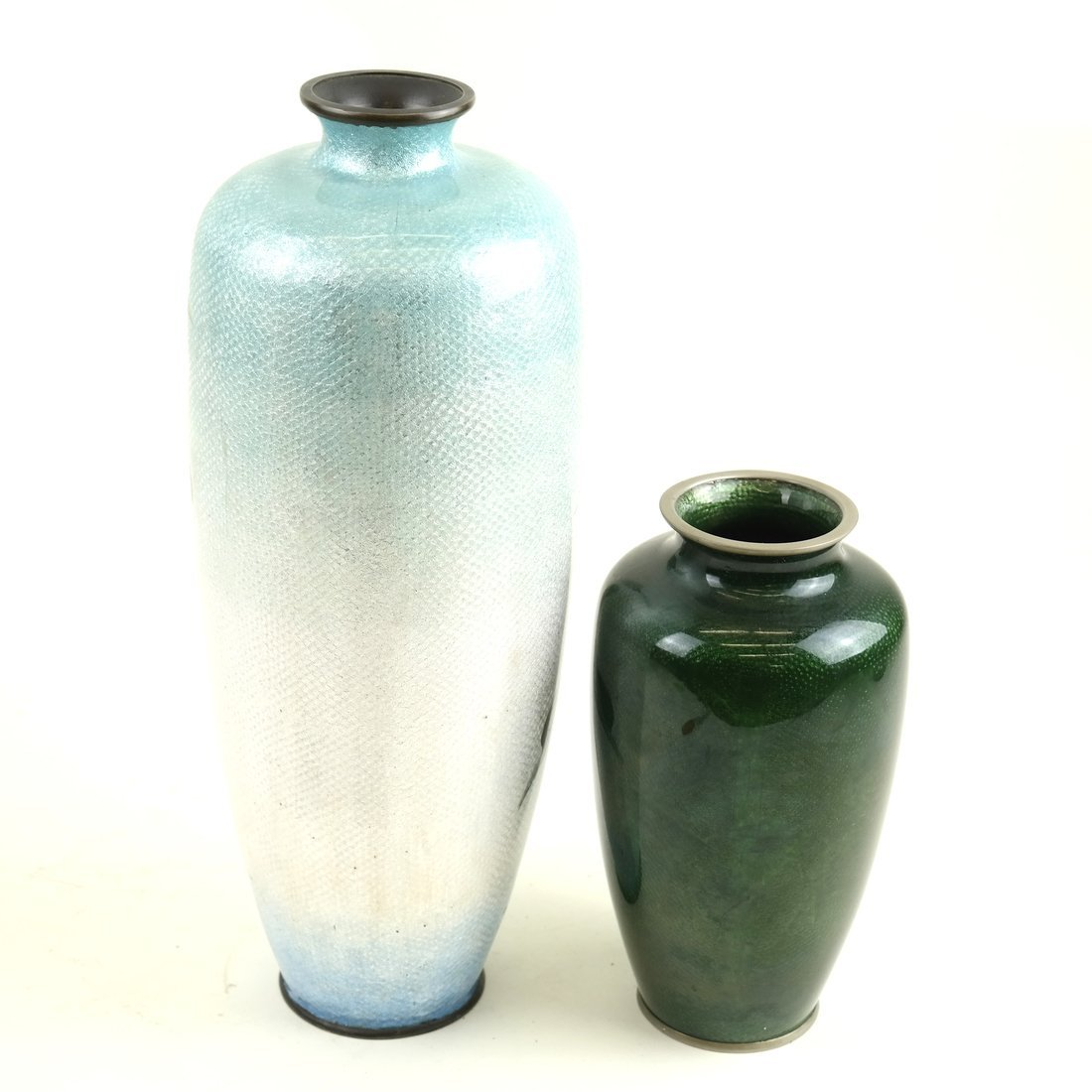 Two Various Asian Cloisonne Vases - 6