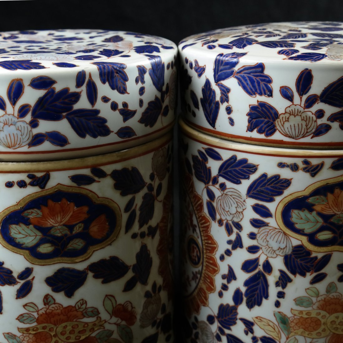 Pair of Chinese Porcelain Canisters - 7