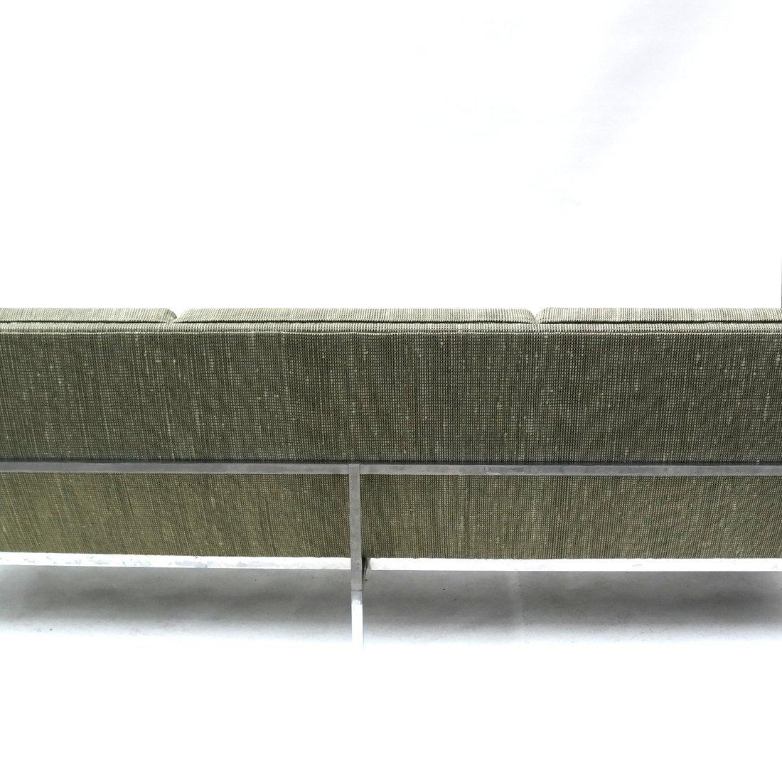 Knoll Green Upholstered Sofa - 3
