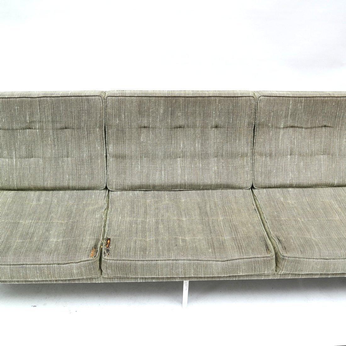 Knoll Green Upholstered Sofa - 4