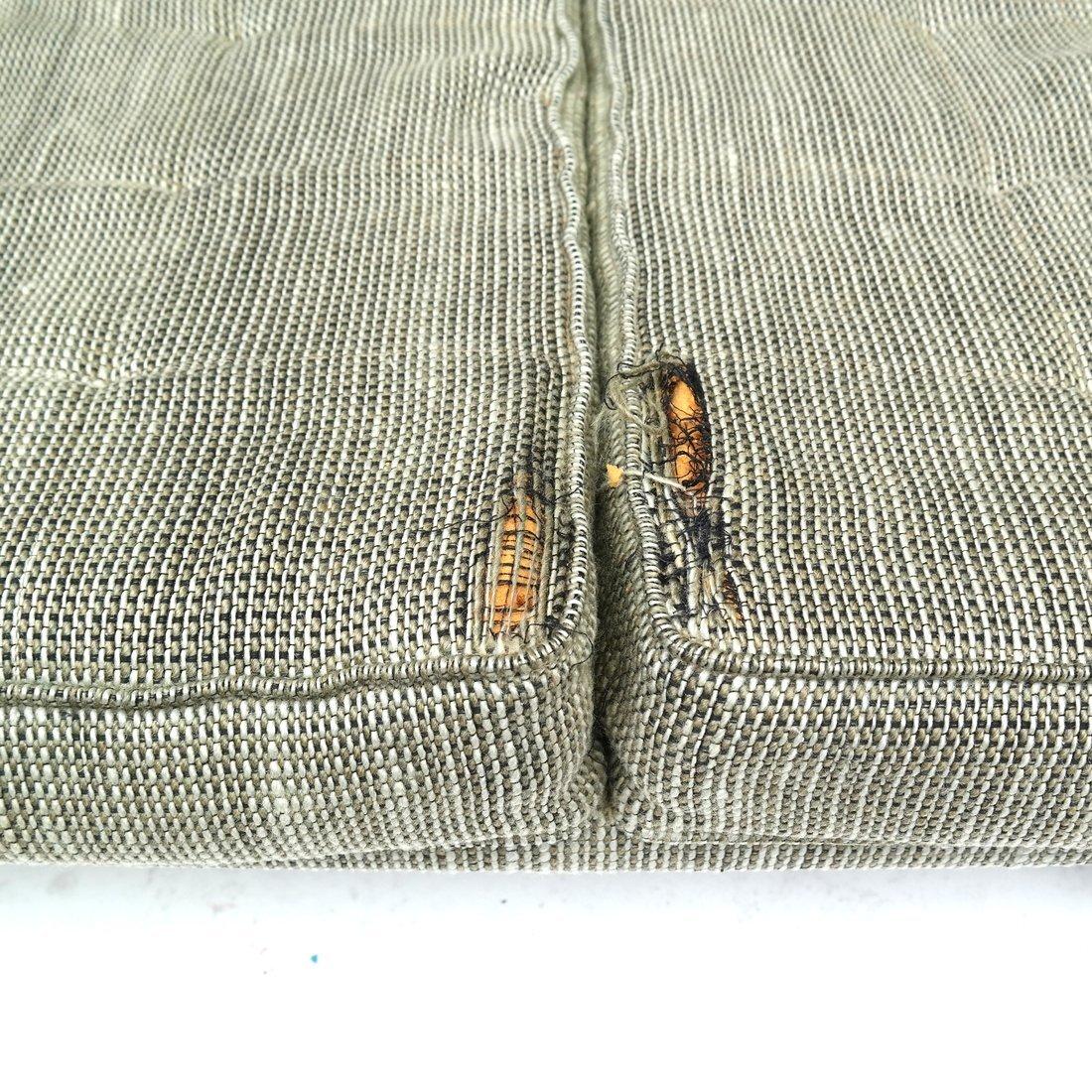 Knoll Green Upholstered Sofa - 5