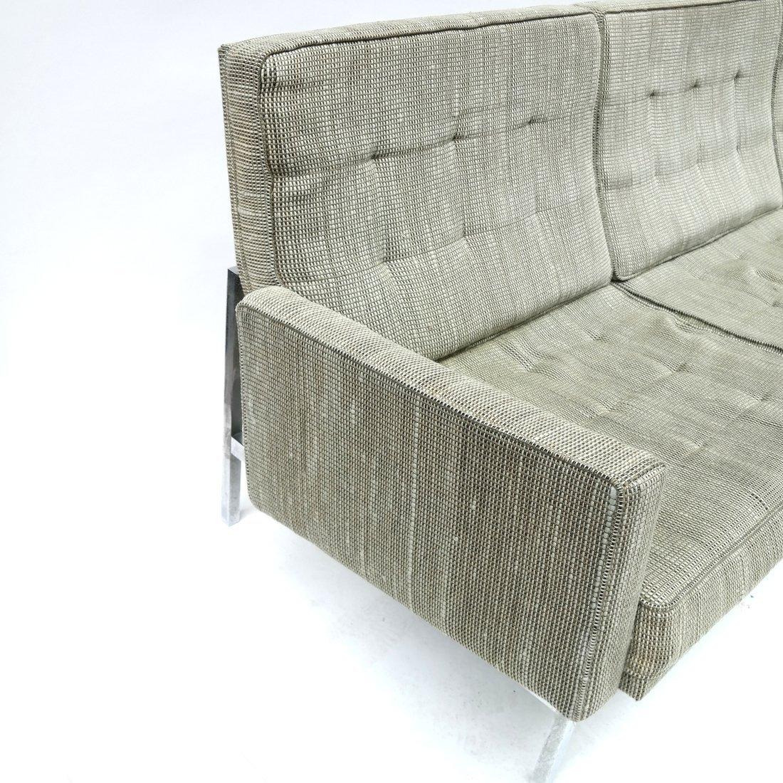 Knoll Green Upholstered Sofa - 8