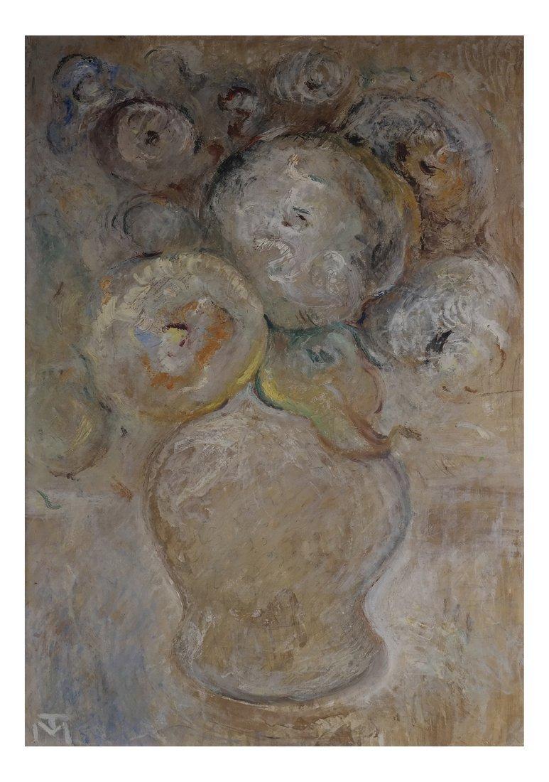 After Menyhert Toth, Abstract Still Life