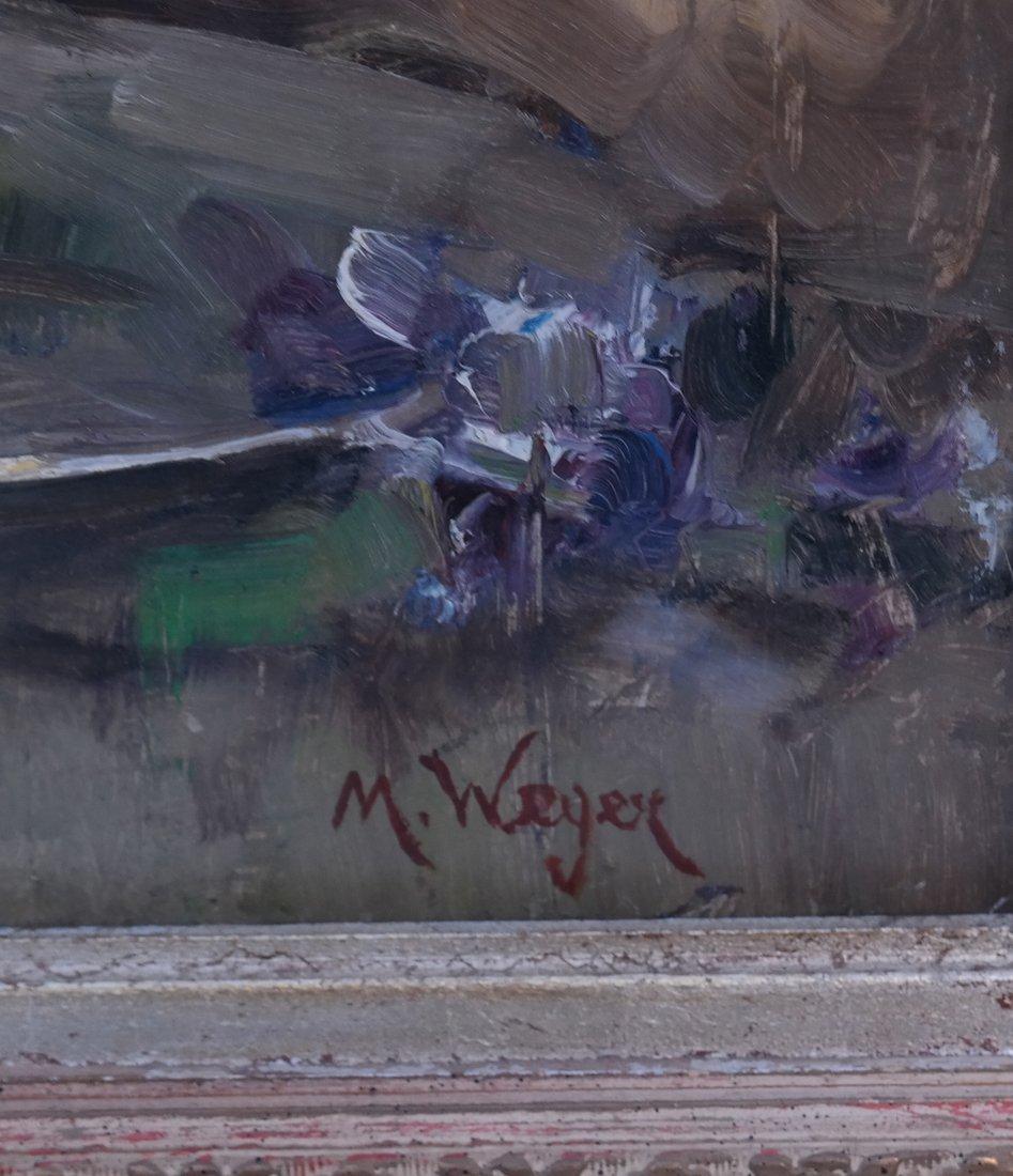 M. Weger, Still Life, Oil on Board - 3