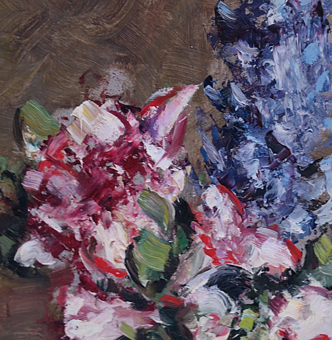 M. Weger, Still Life, Oil on Board - 4