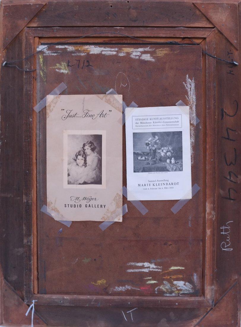 M. Weger, Still Life, Oil on Board - 6