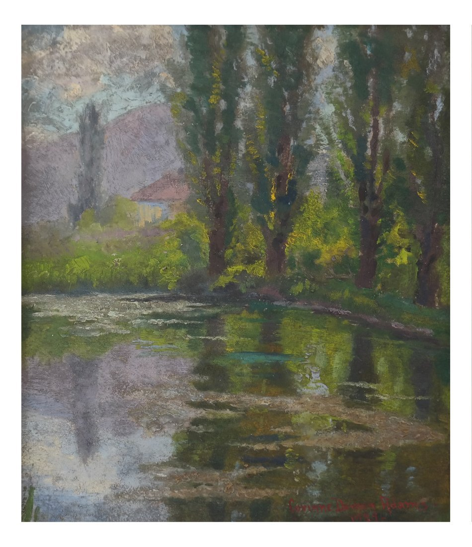 Corinne Damon Adams, Landscape Scene