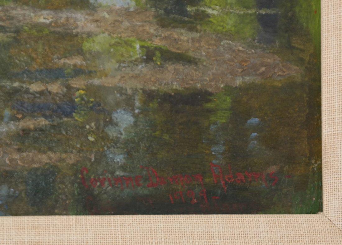 Corinne Damon Adams, Landscape Scene - 3