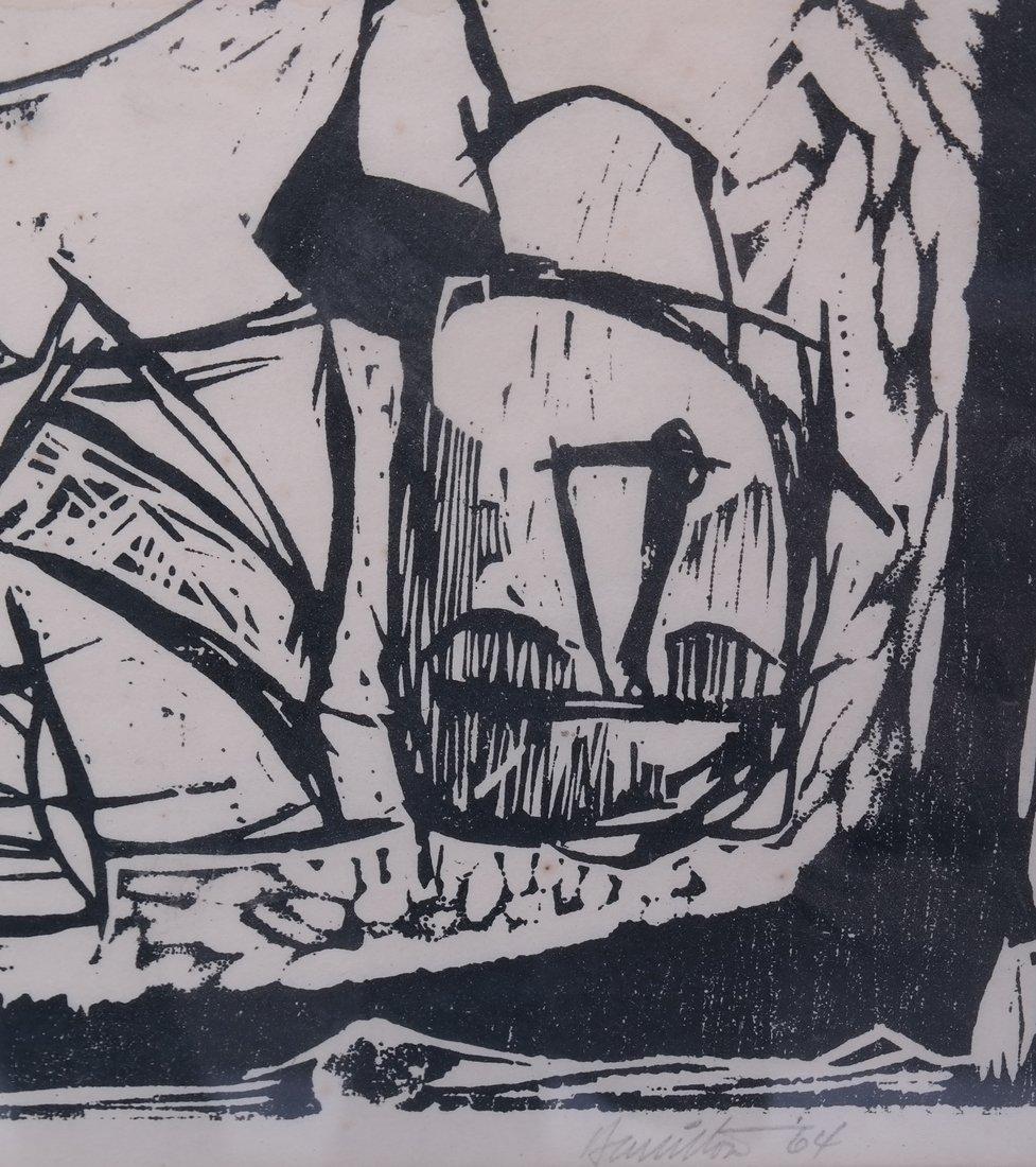 Osiris & Isis, Woodcut - 4
