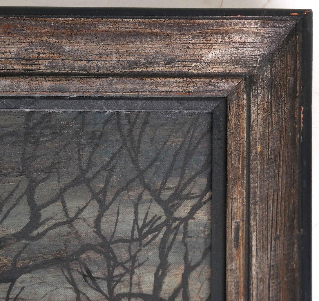 Stark Landscape Scene, Oil on Canvas - 5