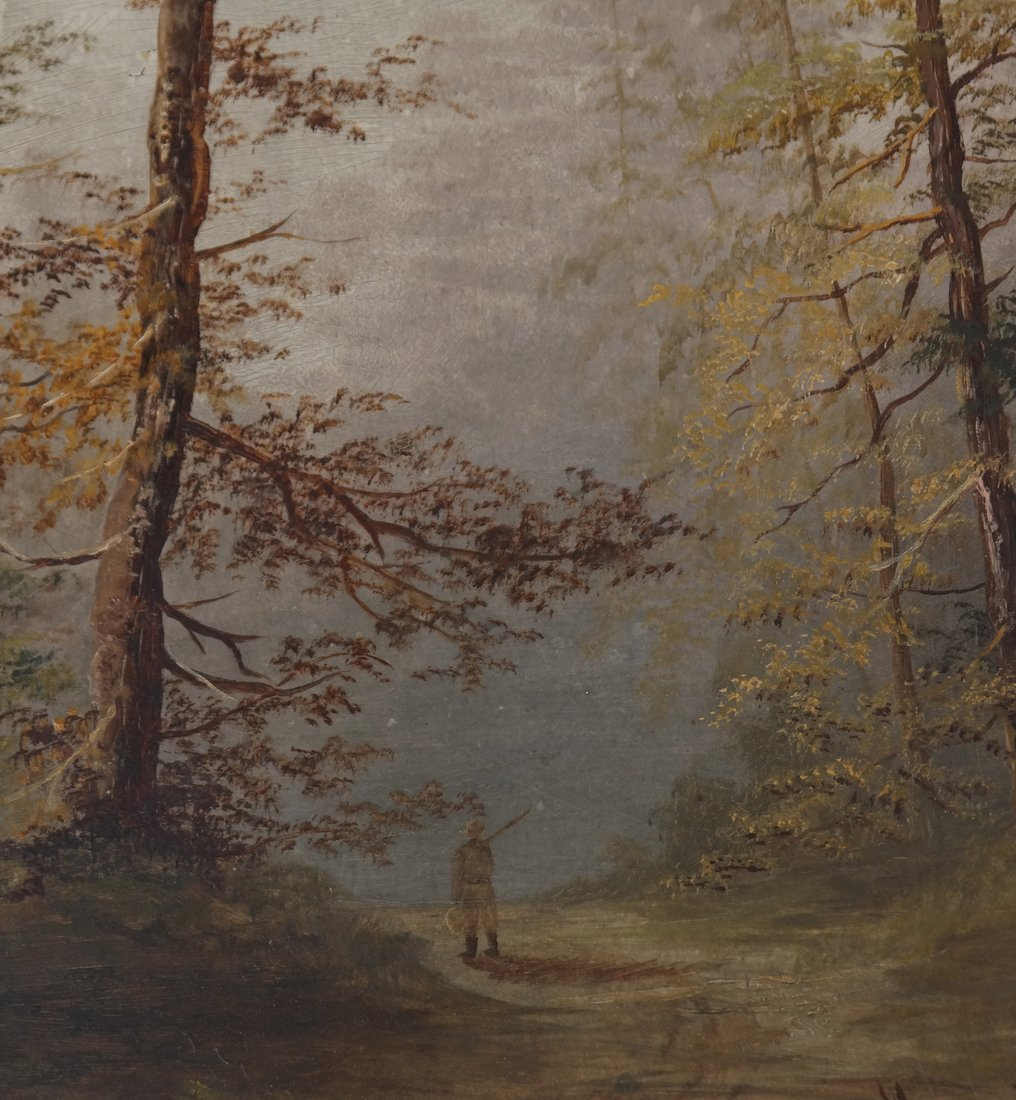 Landscape With Trees, Oil on Panel - 3
