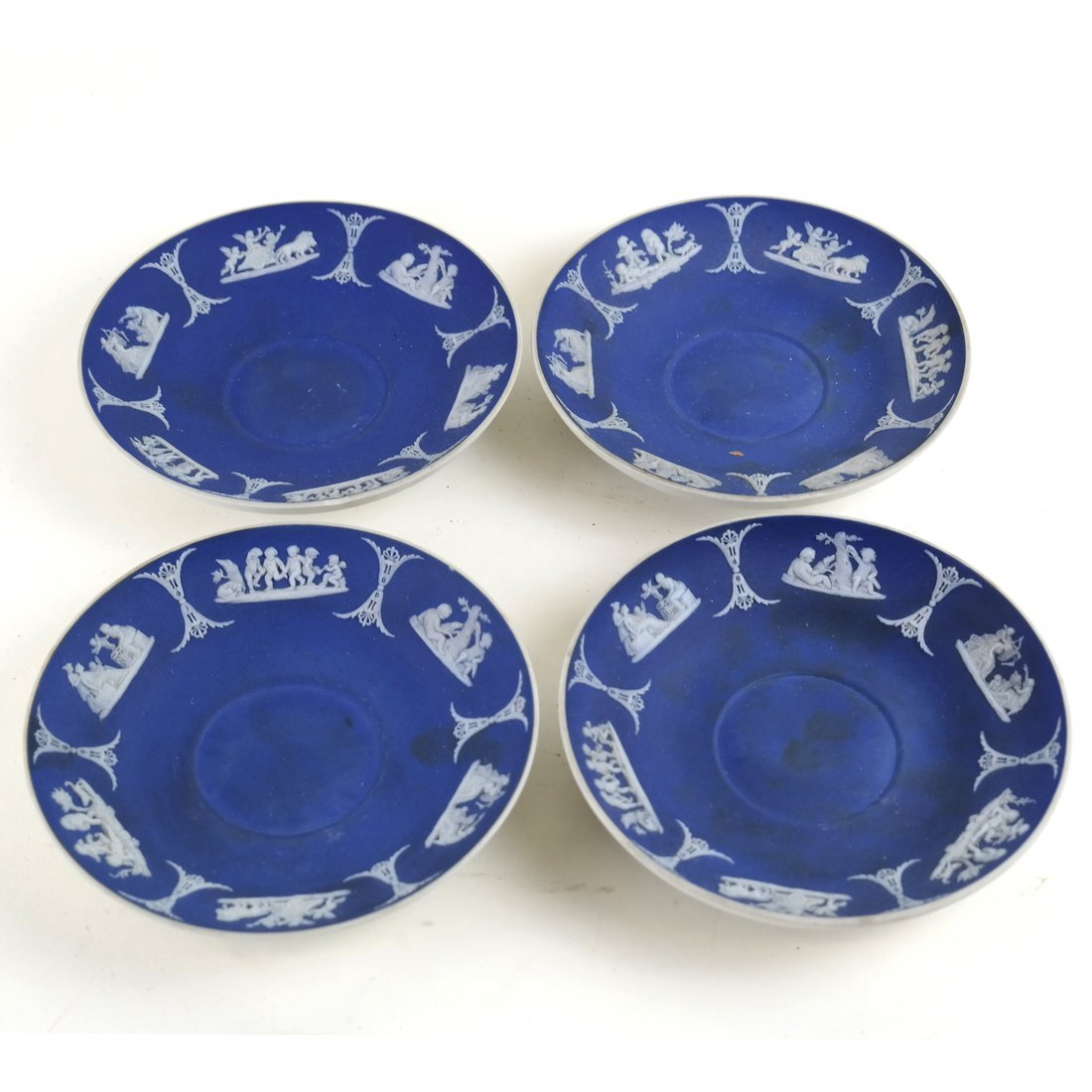 8 Asst. Blue and White Decorated Objects - 8