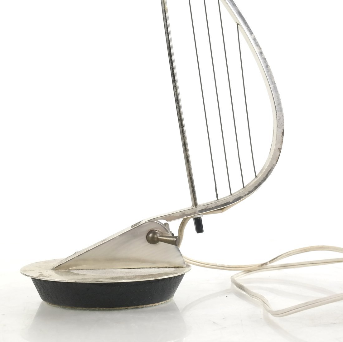 Harp-Form Table Lamp - 3