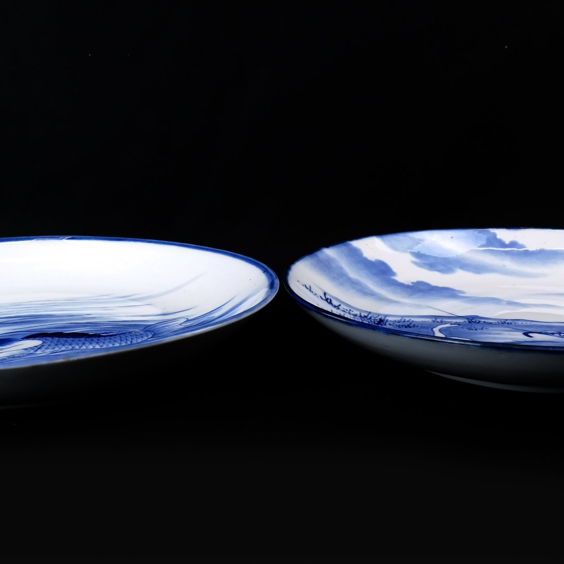 Two Japanese Porcelain Chargers - 6