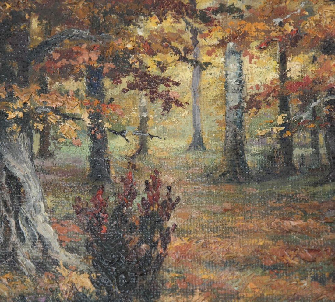 Wooded Landscape, O/C, On Panel - 4