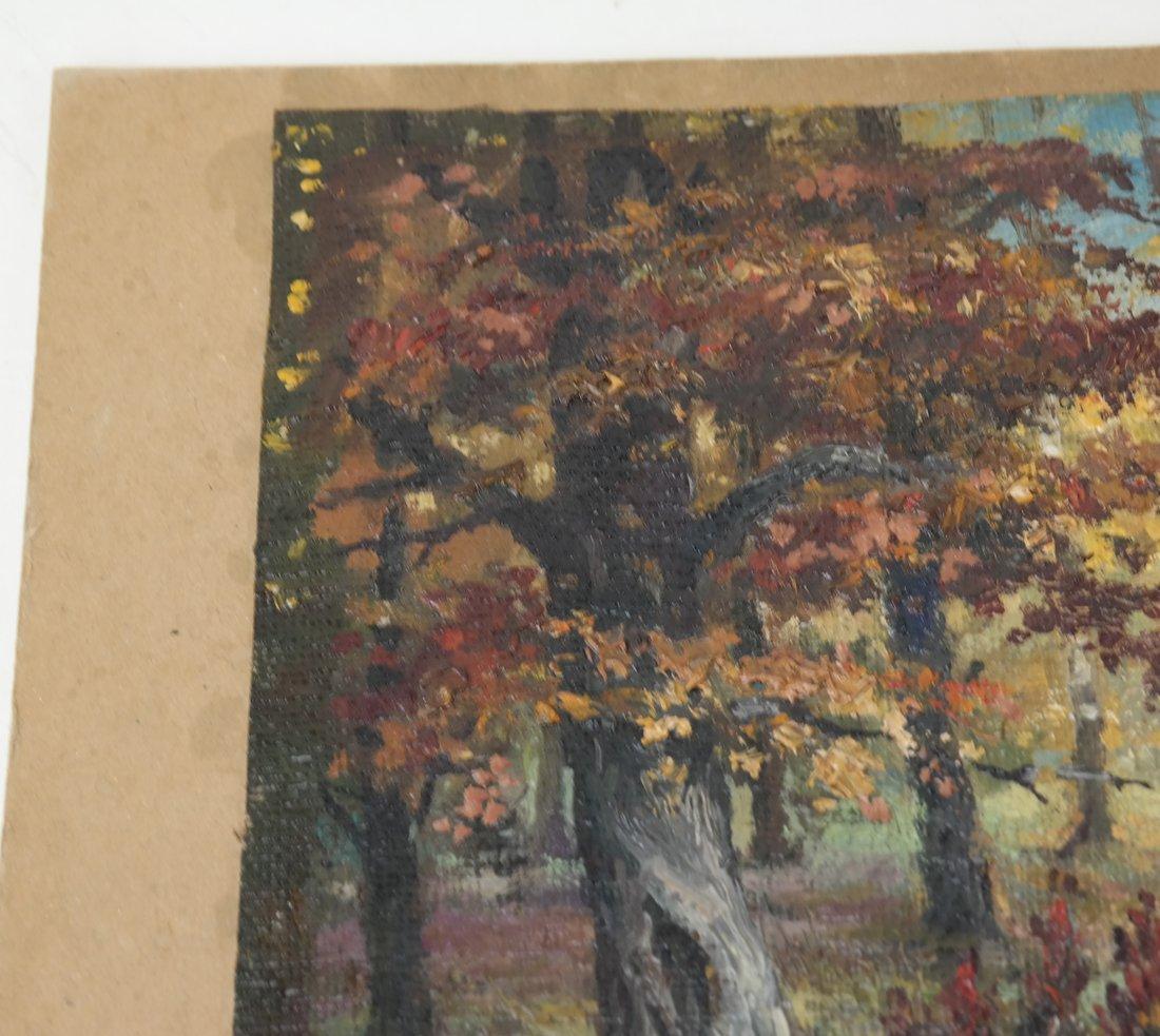 Wooded Landscape, O/C, On Panel - 5