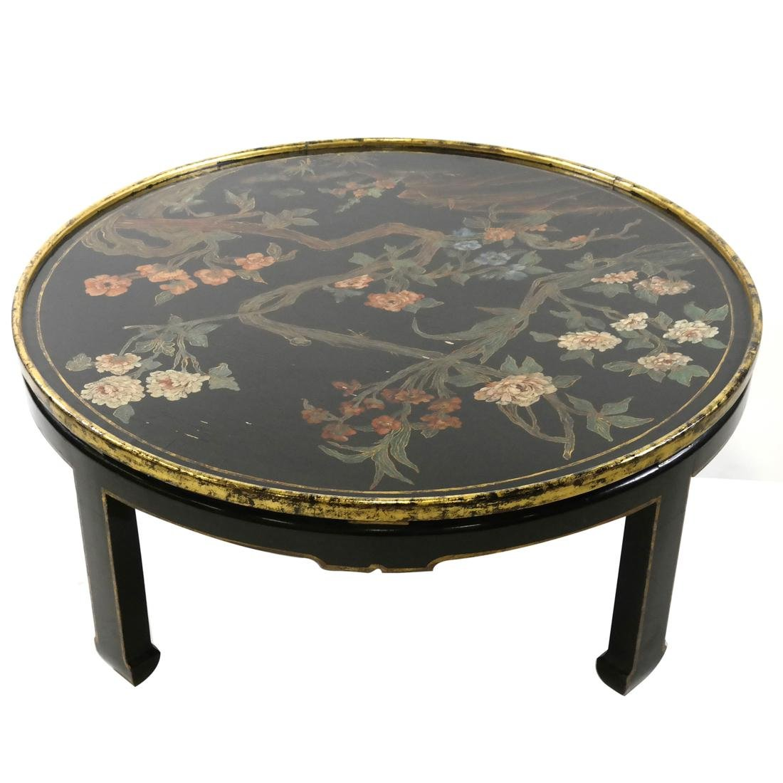 Asian-Style Cocktail Table