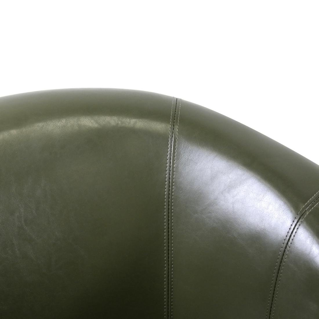 Pair of Green Club Chairs - 3