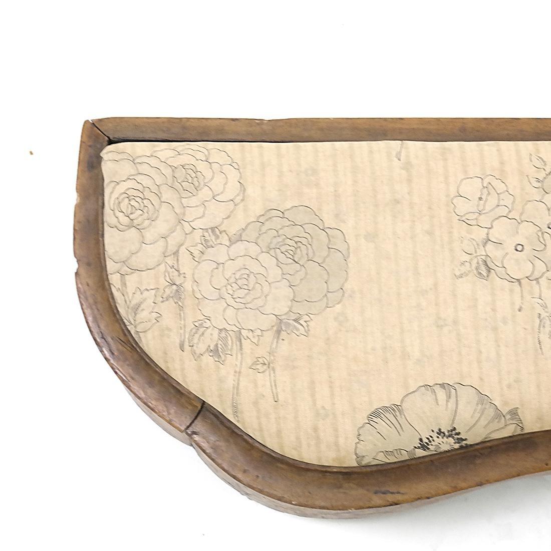 19th Century Marquetry Stool - 2