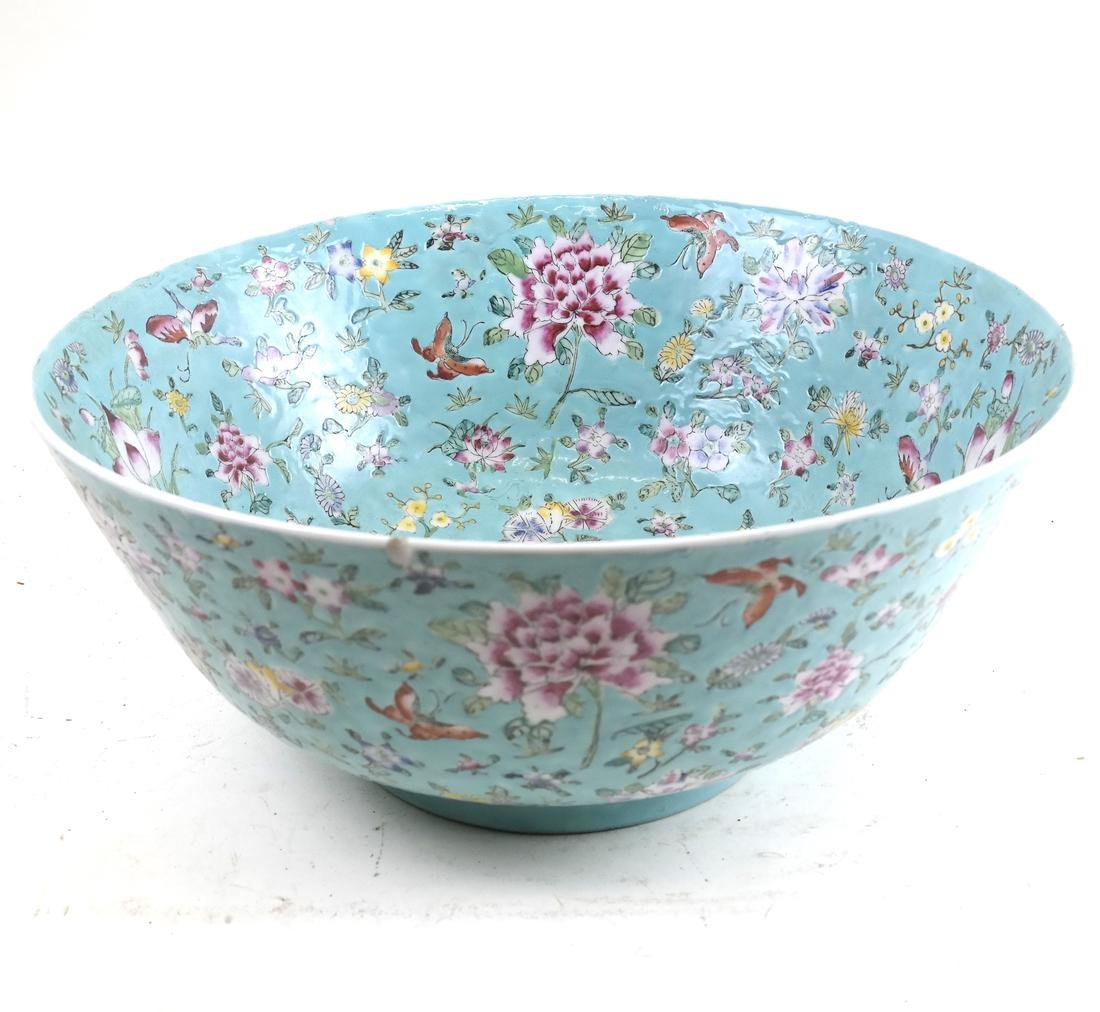 Chinese Floral Decorated Bowl