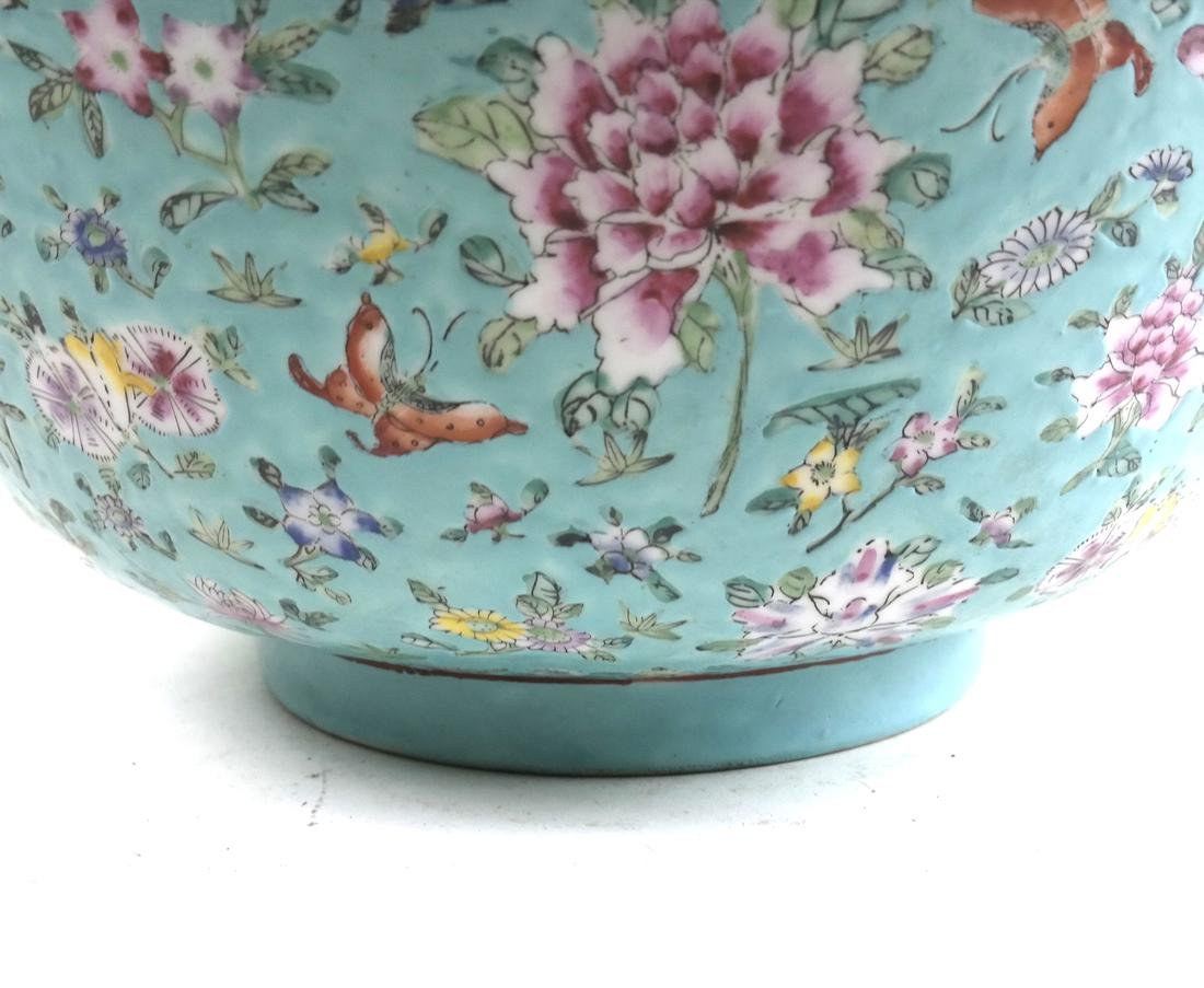 Chinese Floral Decorated Bowl - 3