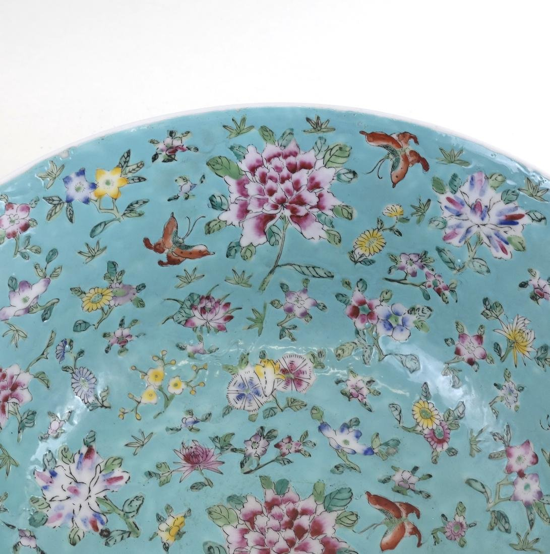 Chinese Floral Decorated Bowl - 5