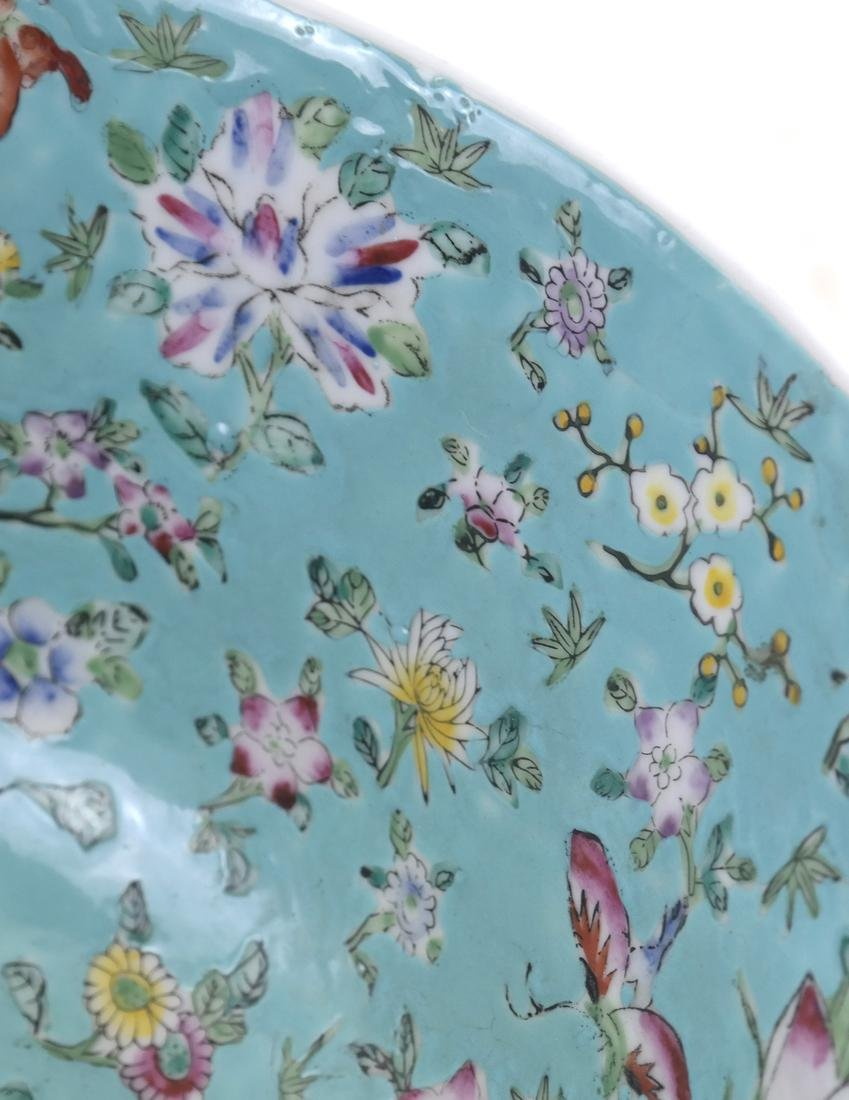 Chinese Floral Decorated Bowl - 6