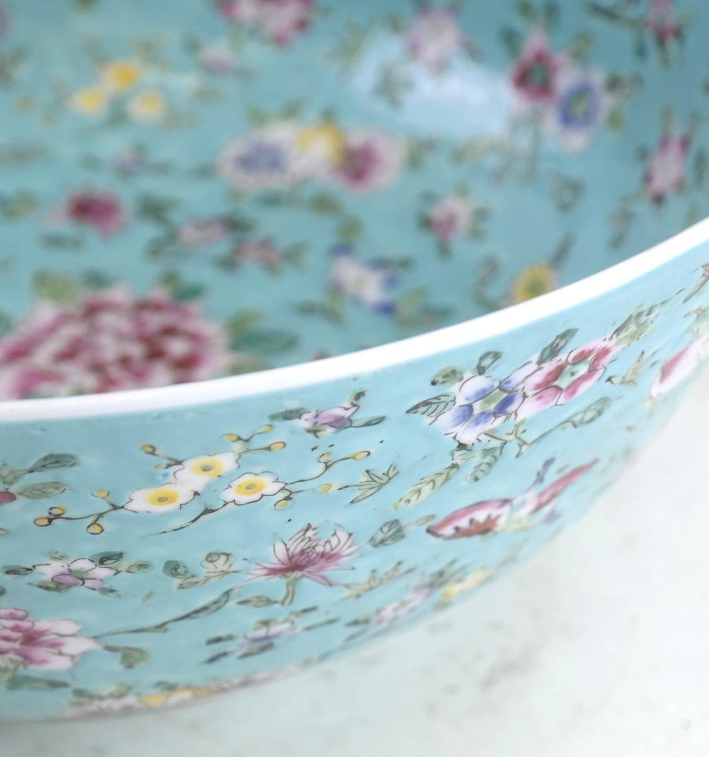 Chinese Floral Decorated Bowl - 7