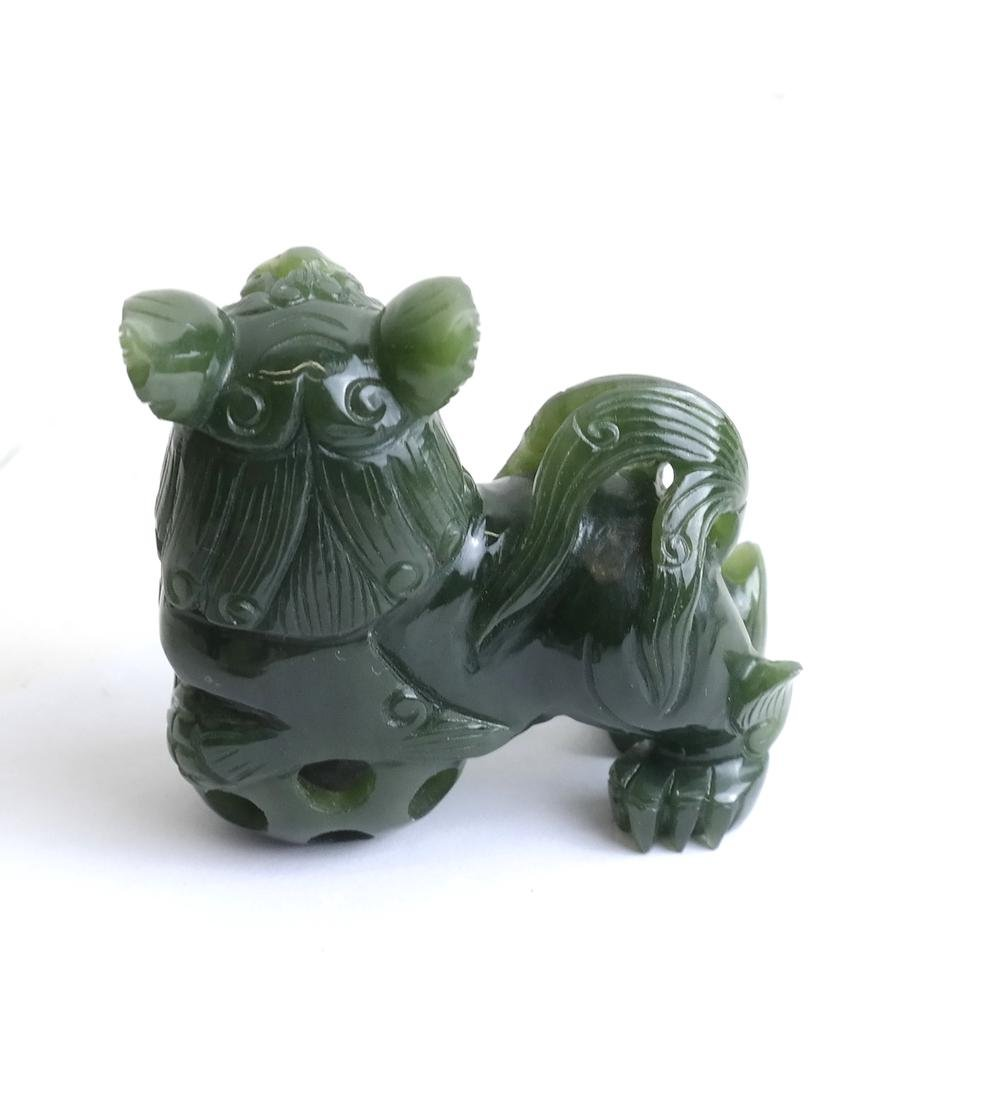 Five  Chinese Jade & Hardstone Articles - 3