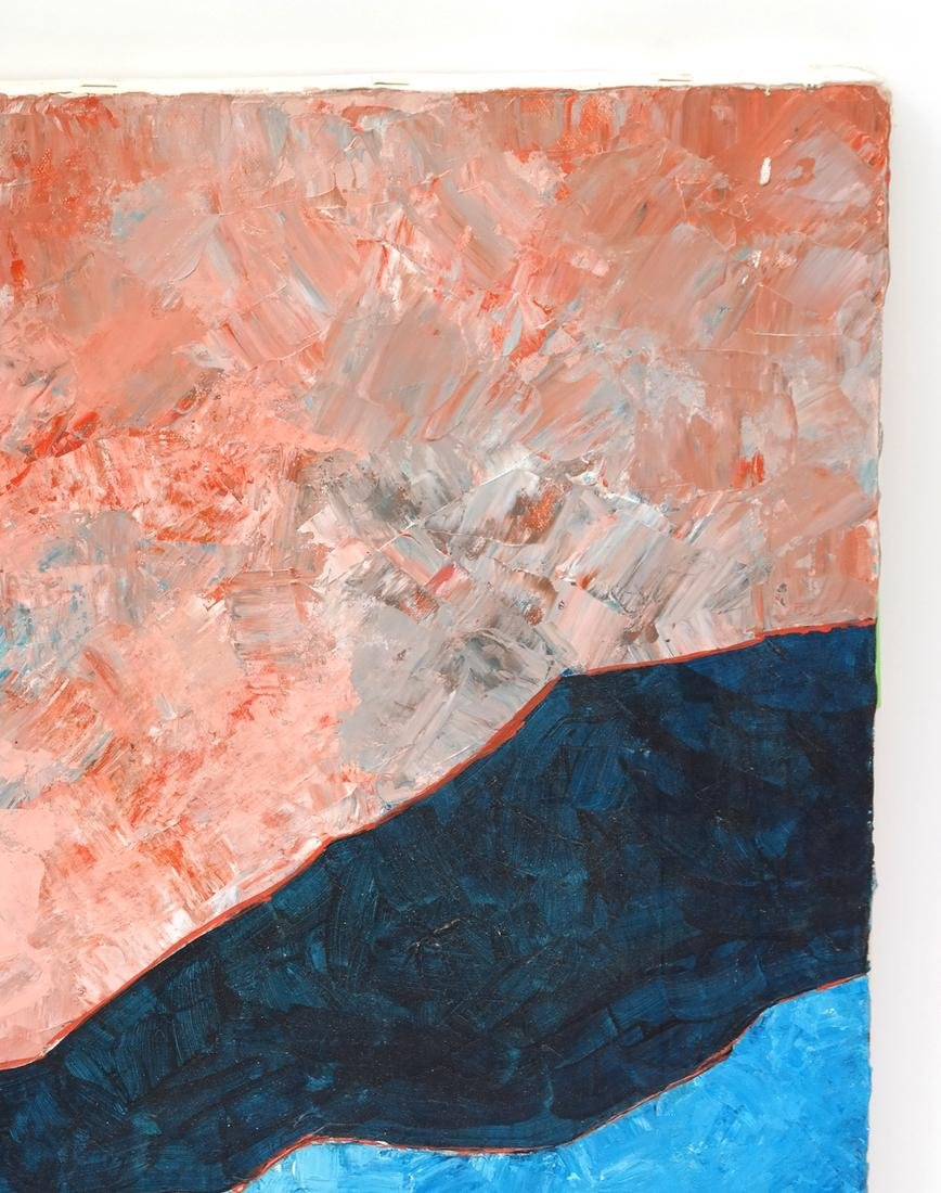 Abstract Composition, Oil on Canvas - 4