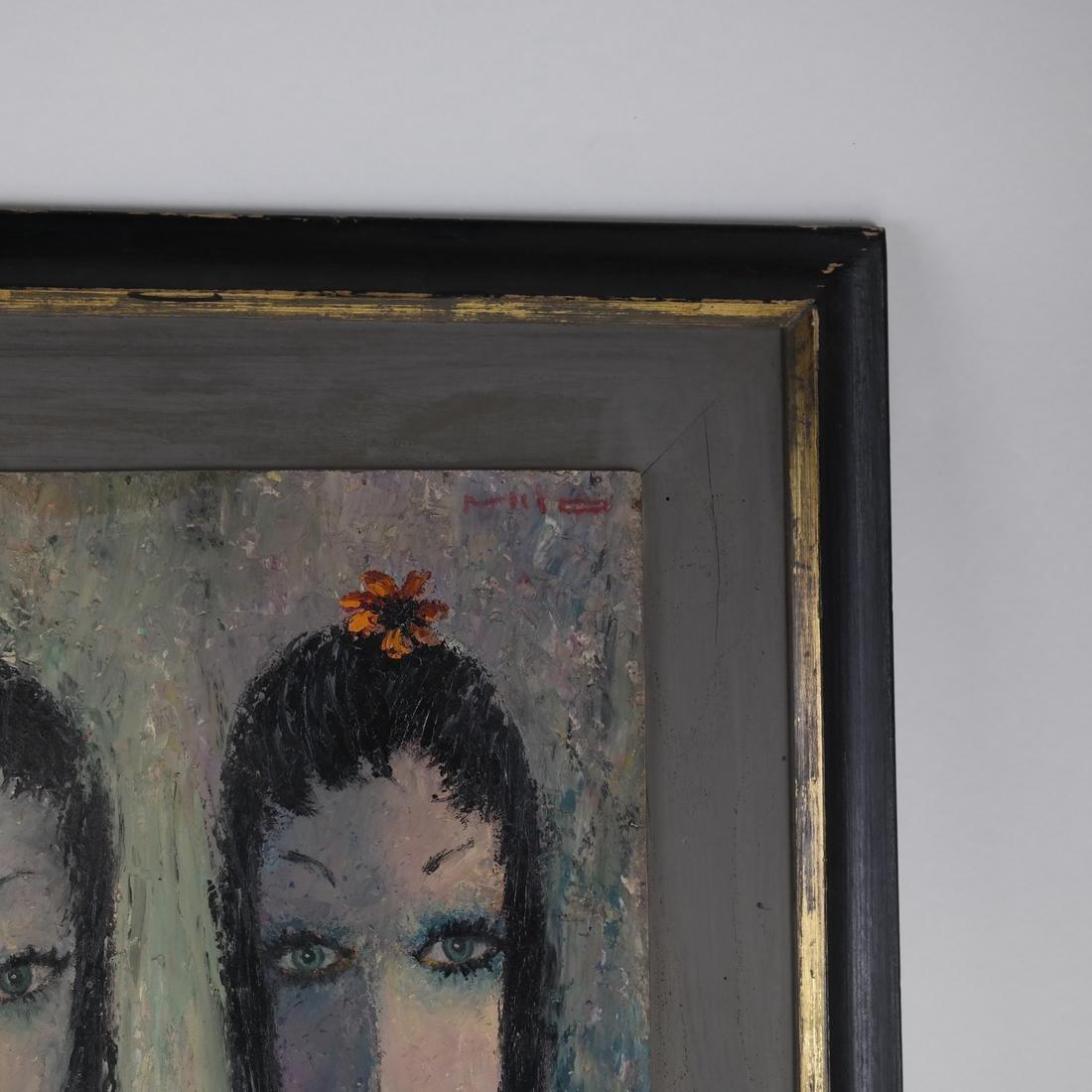 Milo, Portrait of Two Ladies, O/B - 3