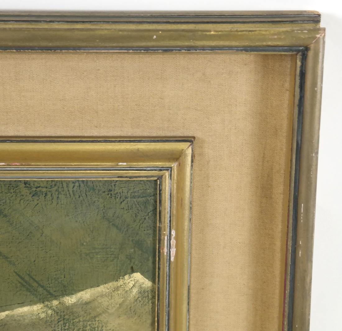 Marta Becket, Landscape With Figures, O/B - 5