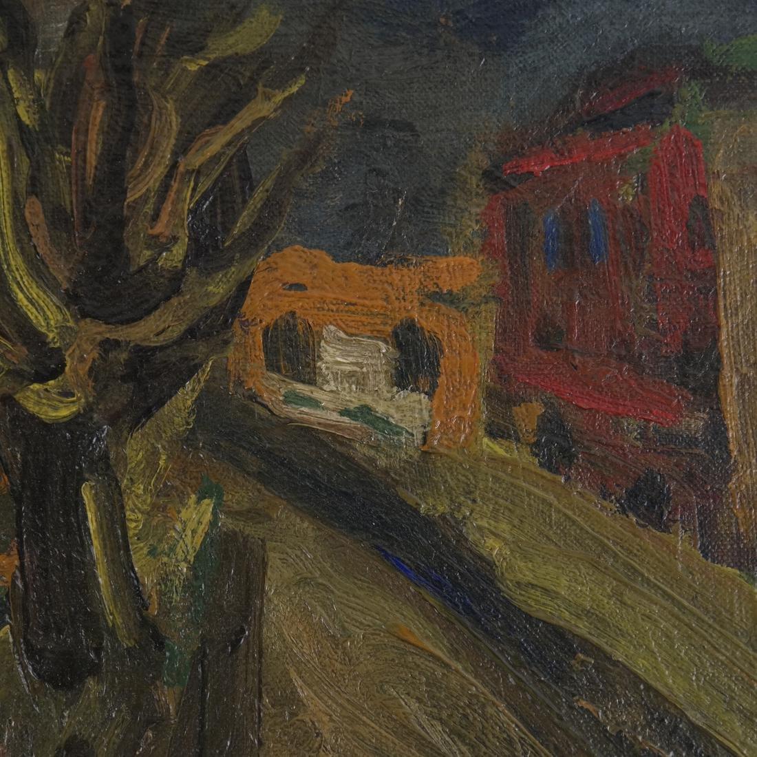 Benjamin Kopman, Cyclist, Oil on Canvas - 4