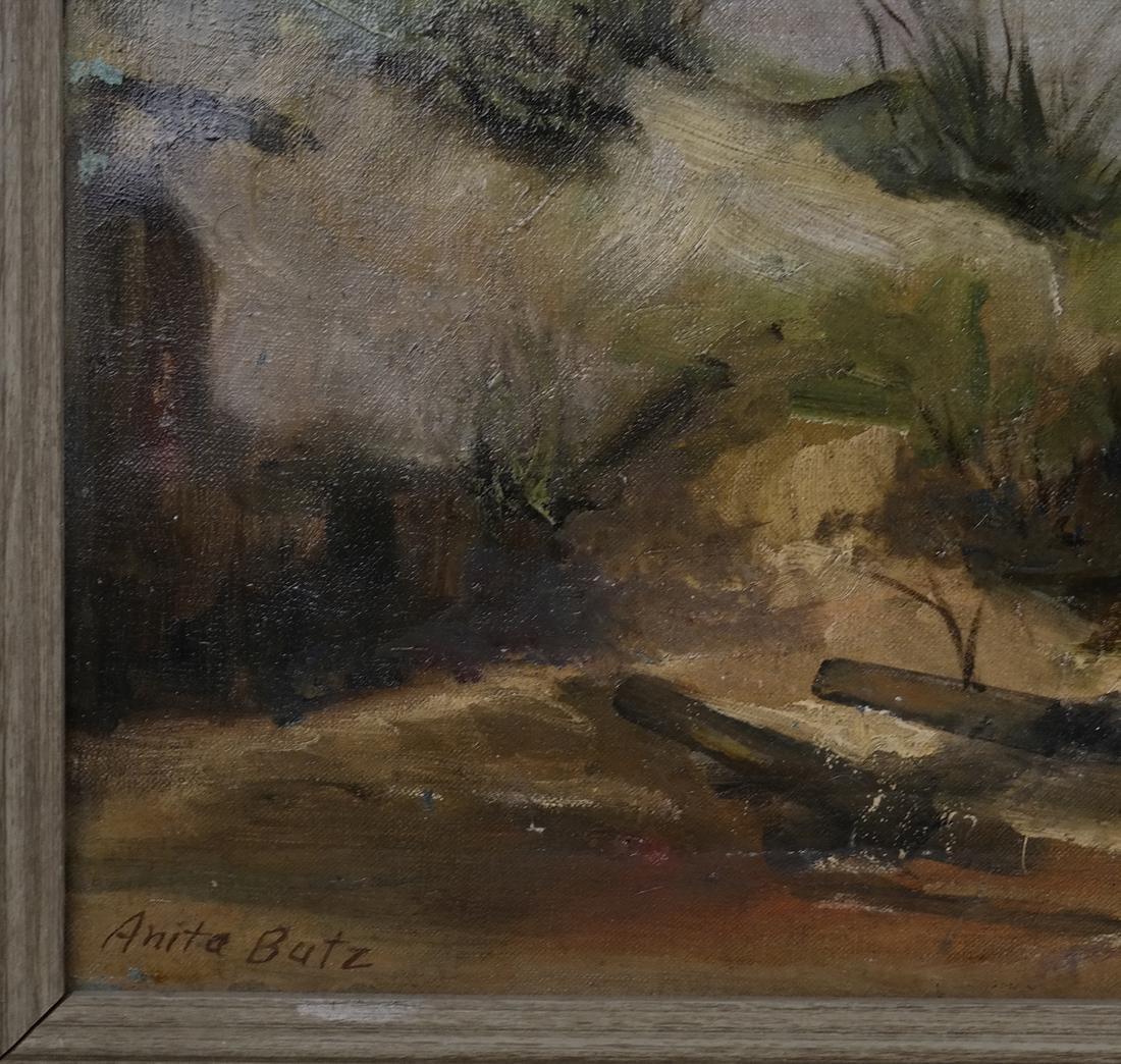 Antia Butz, The Beach, Oil on Canvas - 3