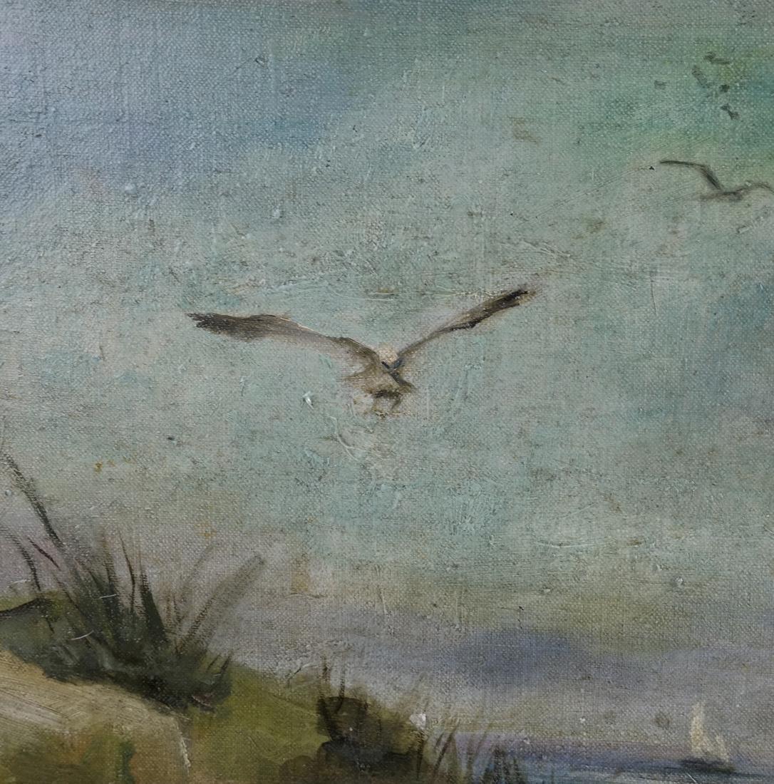 Antia Butz, The Beach, Oil on Canvas - 4