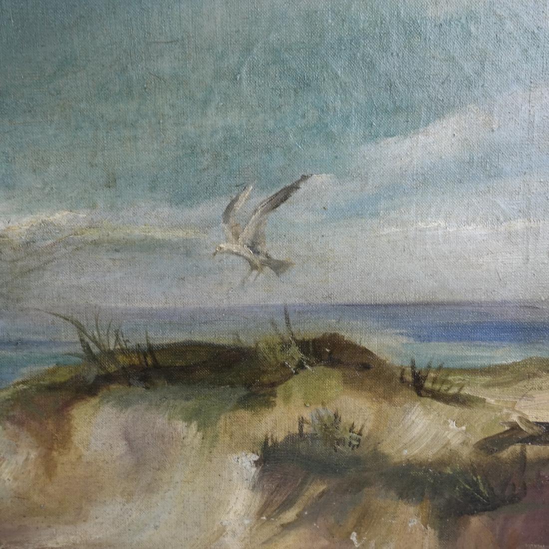 Antia Butz, The Beach, Oil on Canvas - 5