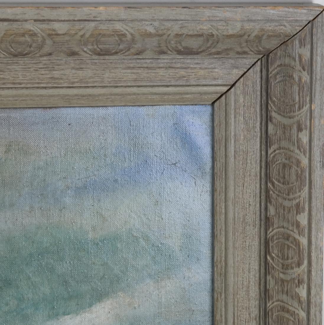 Antia Butz, The Beach, Oil on Canvas - 6