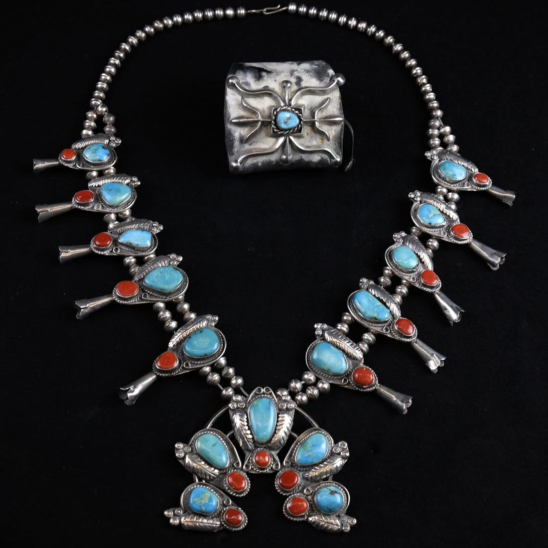 Native American Necklace & Bracelet