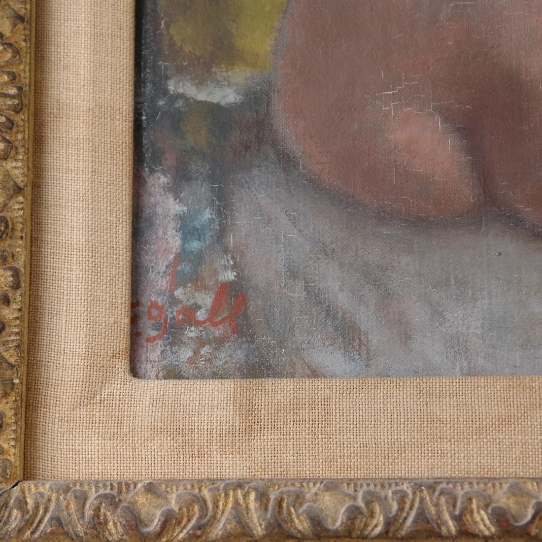 Francois Gall, Seated Nude, O/C - 3