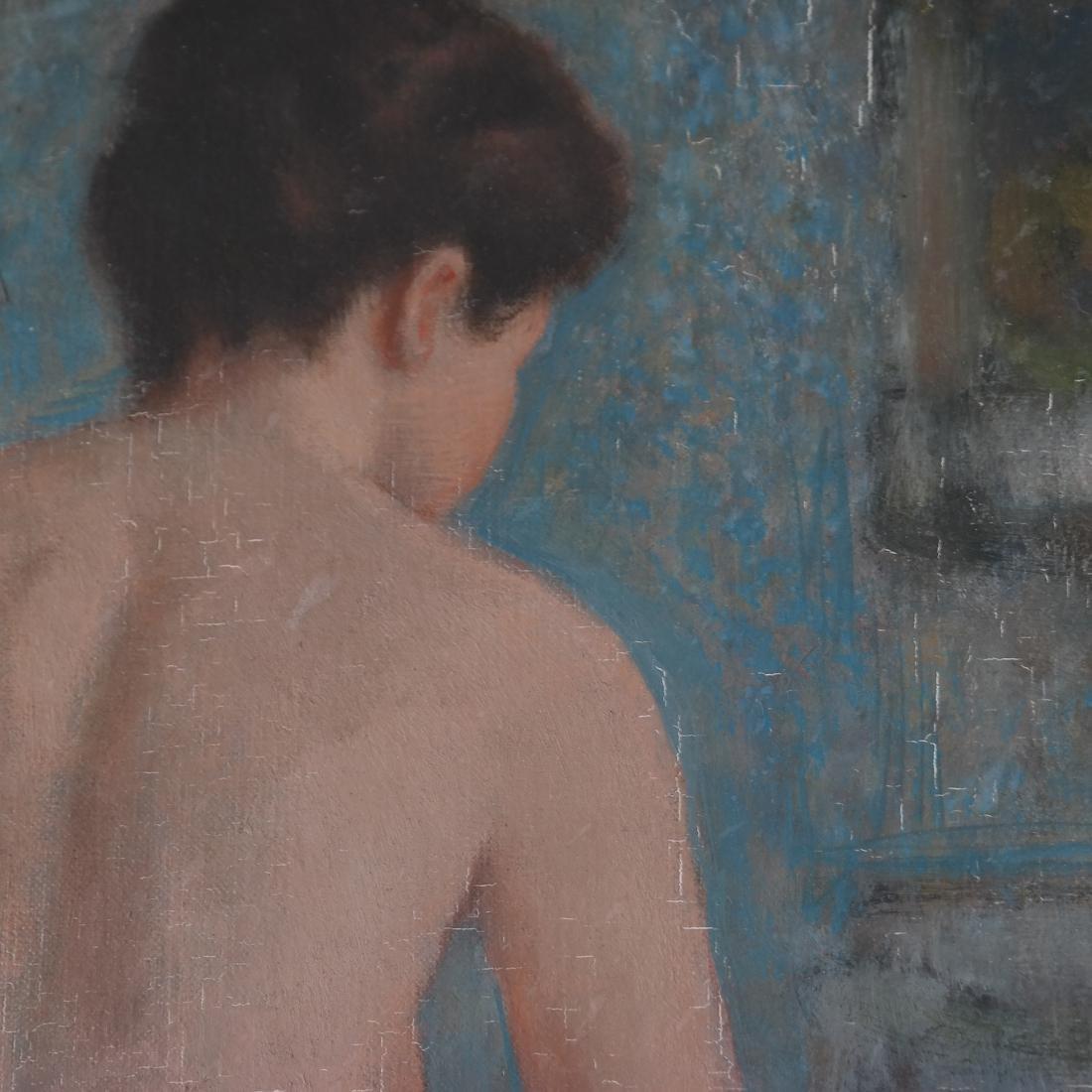 Francois Gall, Seated Nude, O/C - 5