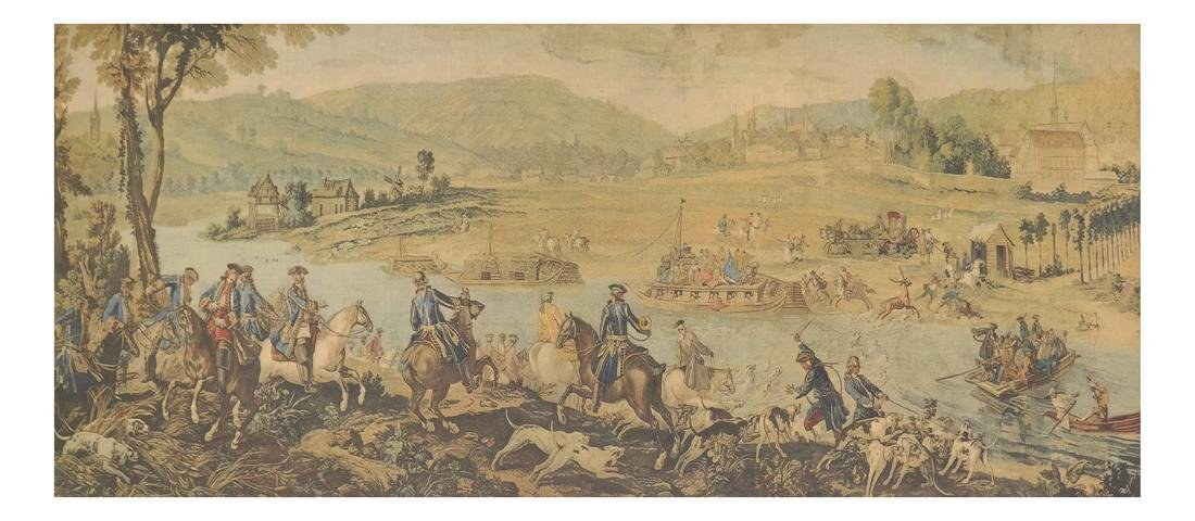 Print of A Battle Scene