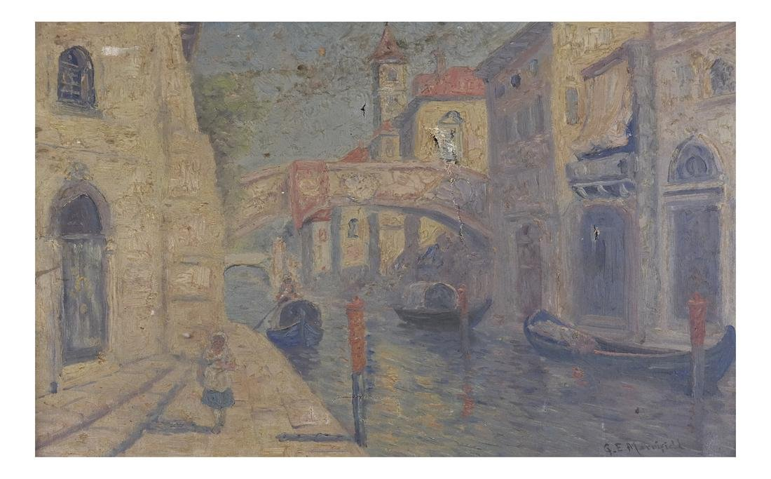 G.E. Marriefield, Venetian Canal - O/C