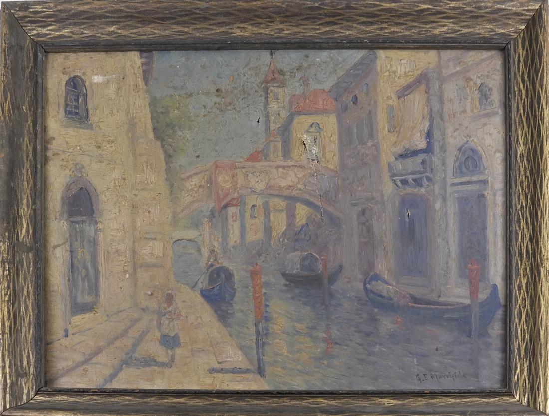G.E. Marriefield, Venetian Canal - O/C - 2