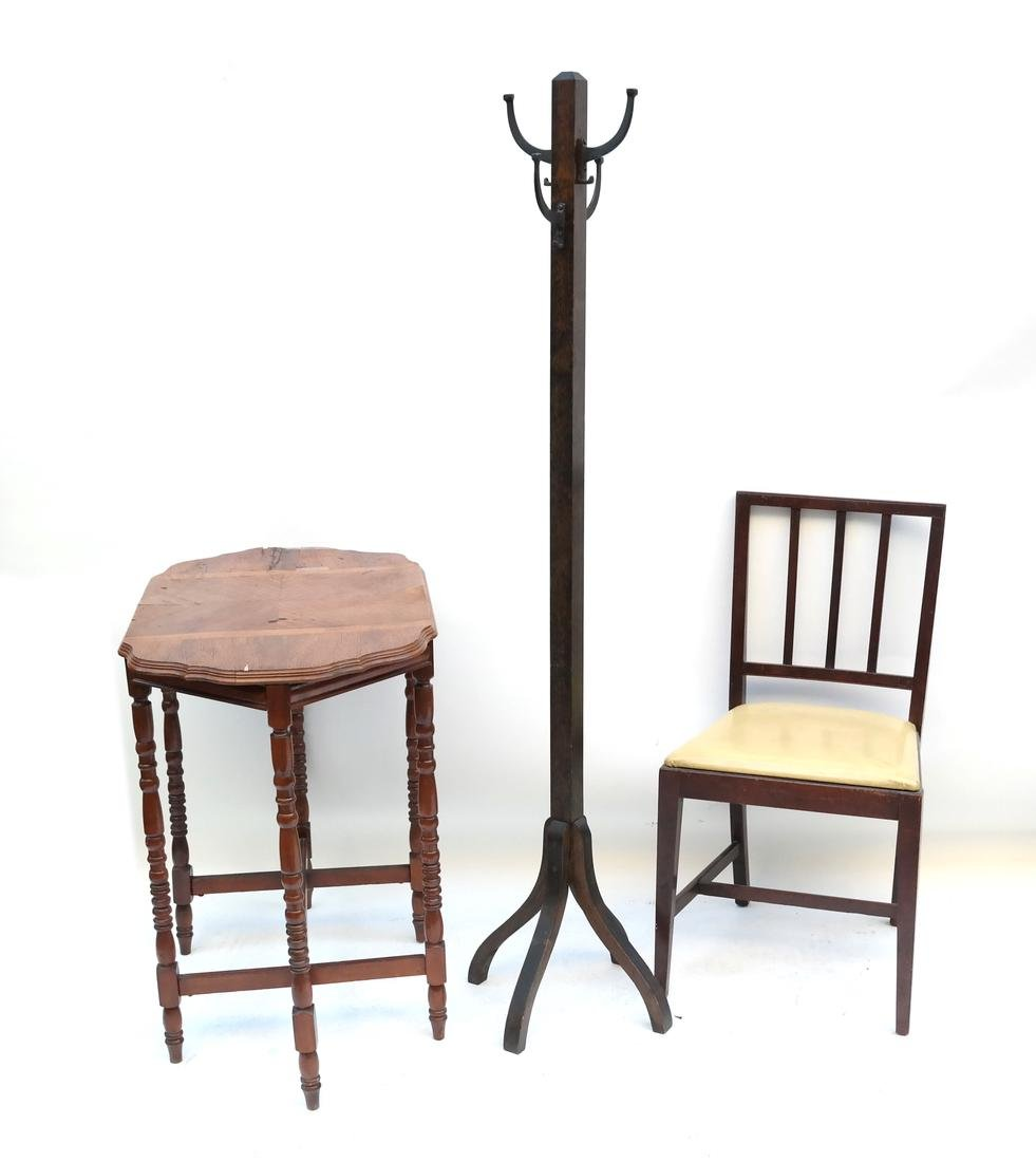 Three Various Furniture Items
