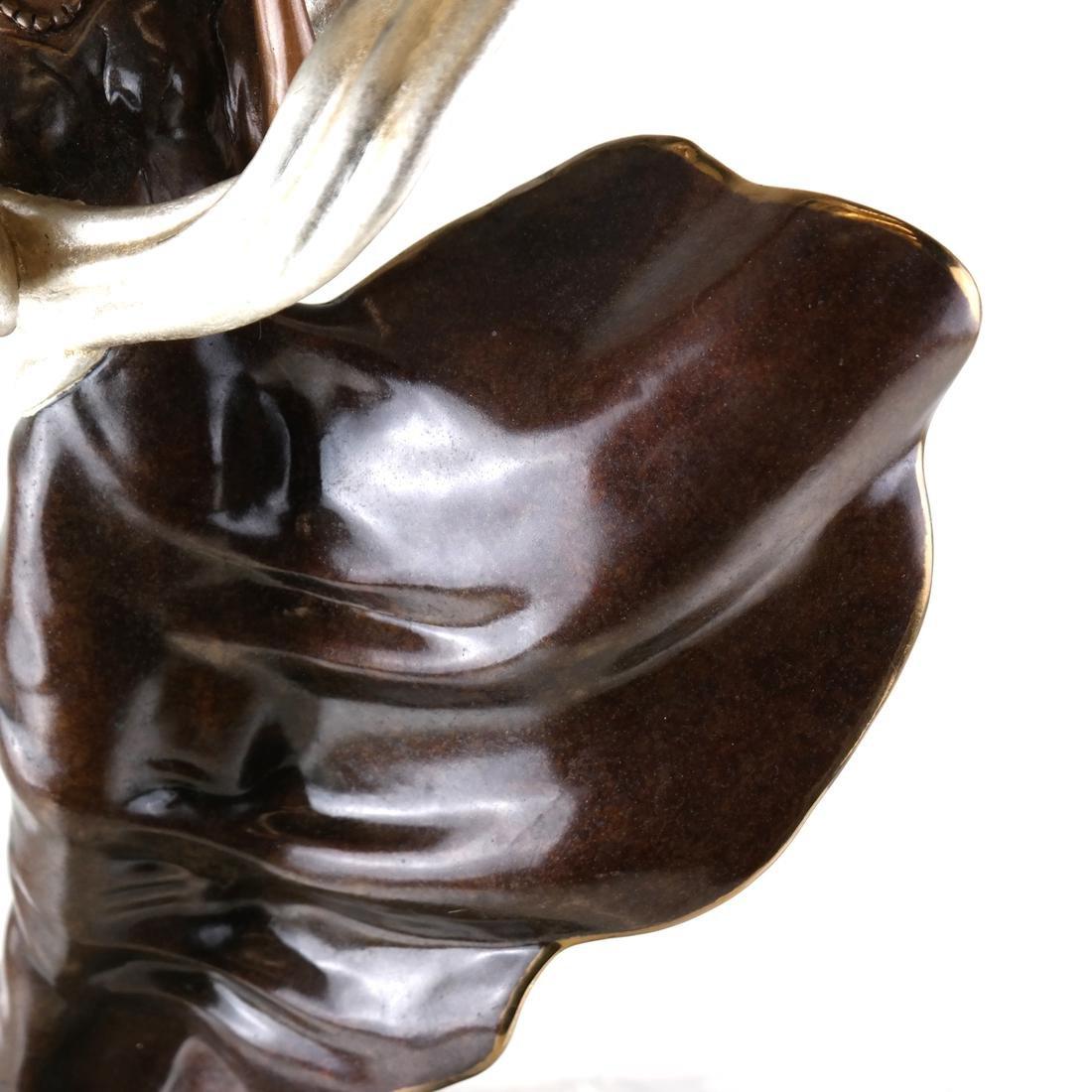 Erte, Summer Breeze, Bronze Sculpture - 3