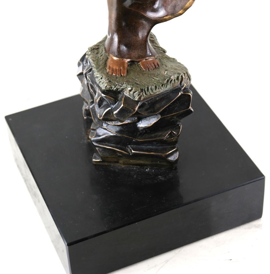 Erte, Summer Breeze, Bronze Sculpture - 4