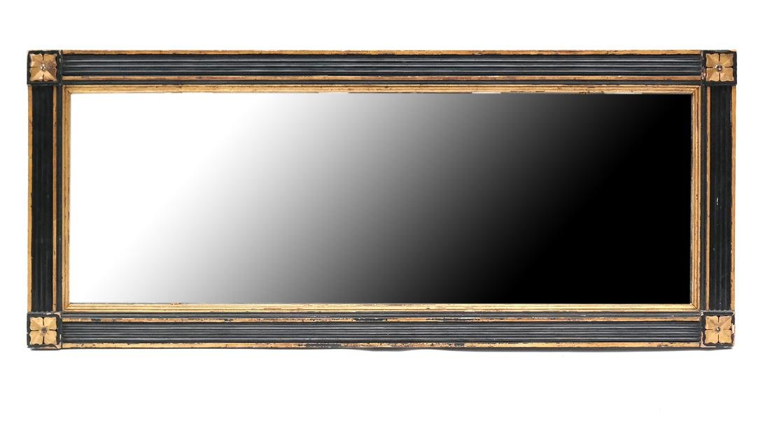 American Overmantle Mirror