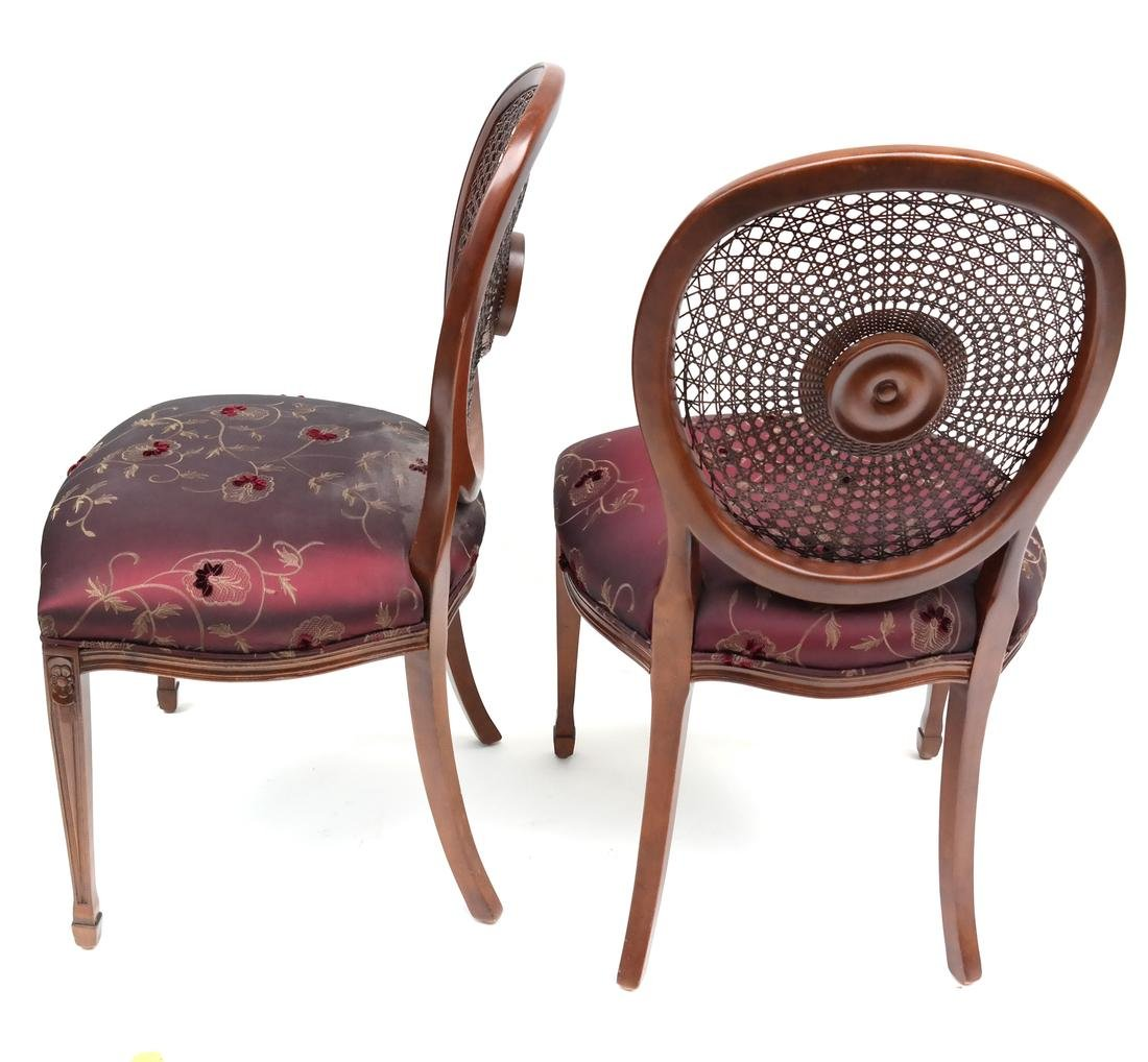 Set of Four Sheraton-Style Side Chairs - 7